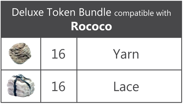 Deluxe Token Bundle compatible with Rococo