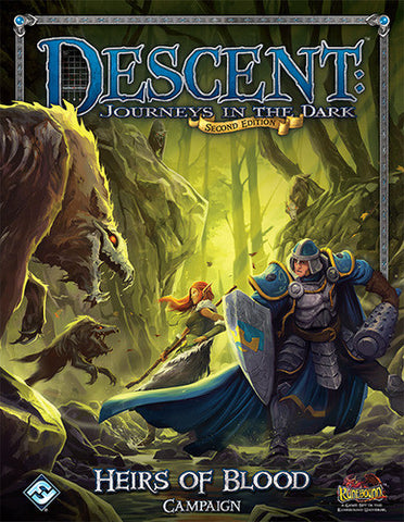 Descent: Journeys in the Dark (Second Edition) – Heirs of Blood (Book)