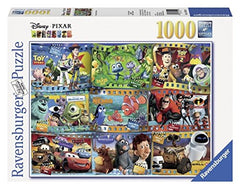 Puzzle - Disney Pixar Collection: Disney-Pixar Movies 1000-Piece
