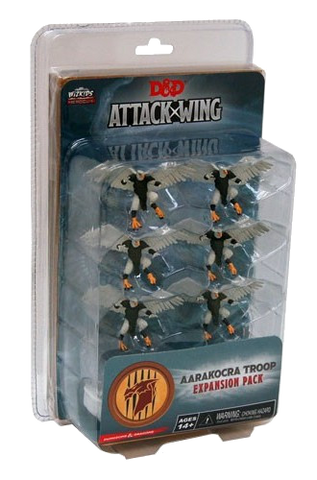 Dungeons & Dragons: Attack Wing – Aarakocra Troop Expansion Pack