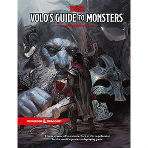 Dungeons & Dragons: Volo's Guide to Monsters (Book)