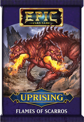 Epic Card Game: Uprising- Flames of Scarros Pack
