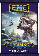 Epic Card Game: Uprising- Velden's Wrath Pack