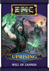 Epic Card Game: Uprising- Will of Zannos Pack