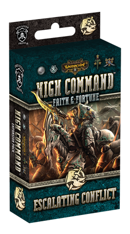 Warmachine: High Command – Faith & Fortune - Escalating Conflict Expansion