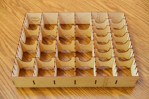 The Broken Token - Euro Card Organizer for Wooden Artist Case