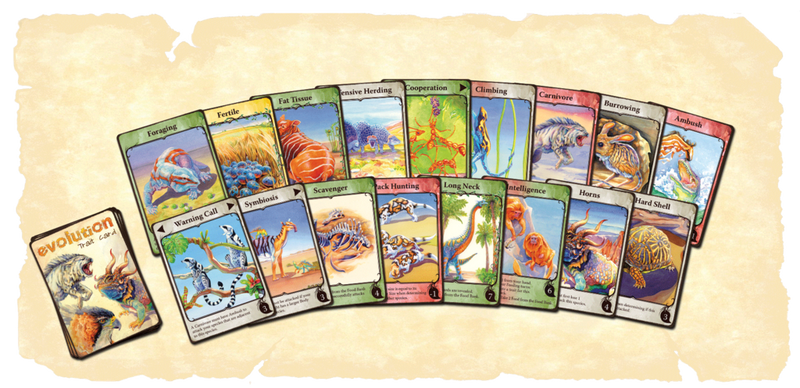 Evolution - Trait Card Deck