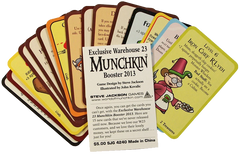 Exclusive Warehouse 23 Munchkin Booster