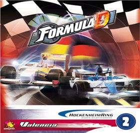 Formula D: Circuits 2 - Hockenheim and Valencia