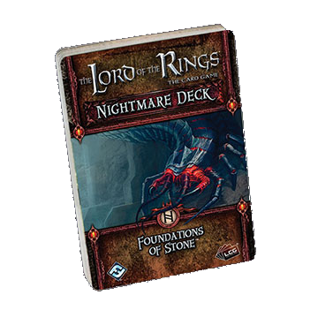 The Lord of the Rings: The Card Game - Nightmare Deck: Foundations of Stone