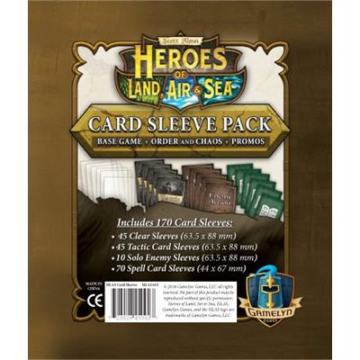 Heroes of Land Air and Sea Comprehensive Sleeve Pack