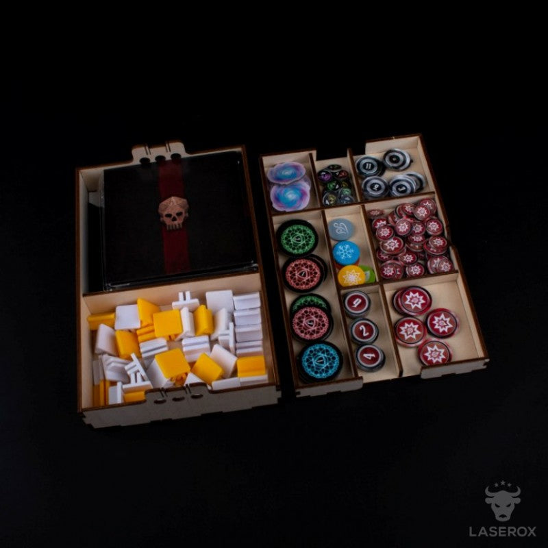 Laserox - GloomBox Forgotten Circles Expansion Upgrade Kit (Compatible with Gloomhaven: Forgotten Circles)