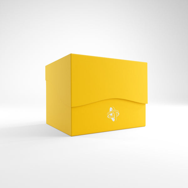 Gamegenic: Side Holder XL Deck Box - Yellow (100ct)