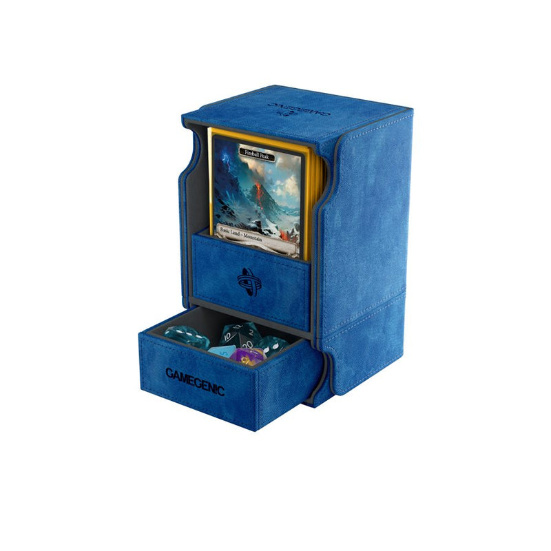 Gamegenic: Watchtower Convertible Deck Box - Blue (100ct)