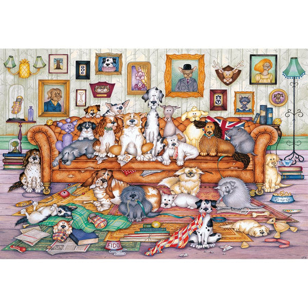 Puzzle - Gibsons - The Barker-Scratchits (500 Pieces)
