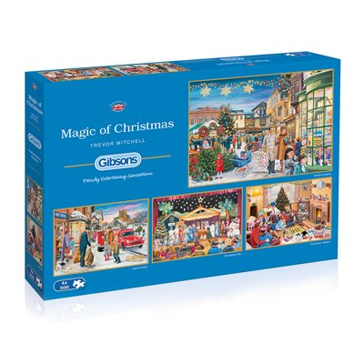 Puzzle - Gibsons - Magic of Christmas (500 Pieces)