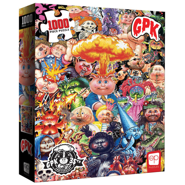 "Puzzle - USAopoly - Garbage Pail Kids ""Yuck"" (1000 Pieces)"
