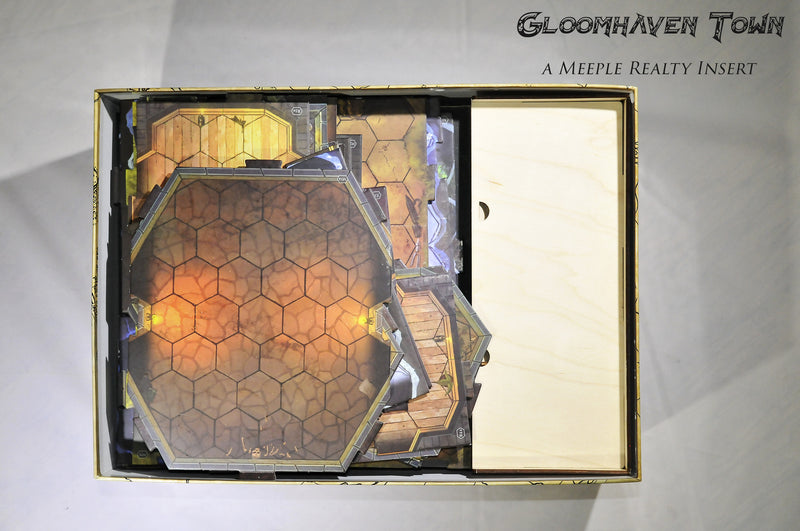 Meeple Realty - Gloomhaven Town (Compatible with Gloomhaven™)