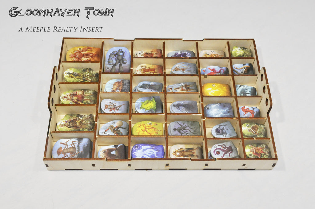 Buy Meeple Realty Gloomhaven Town Compatible With
