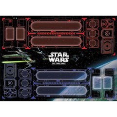 Star Wars: The Card Game - Galactic Conflict 2-Player Playmat
