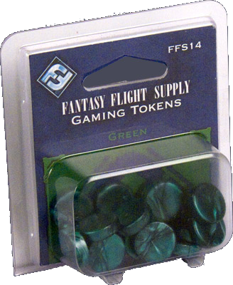 Gaming Tokens: Green