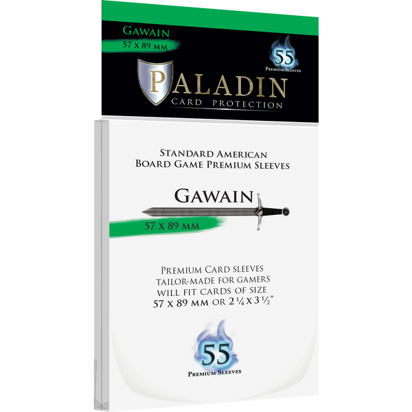 Paladin Card Protection: Gawain (57 × 89 mm, Standard American)
