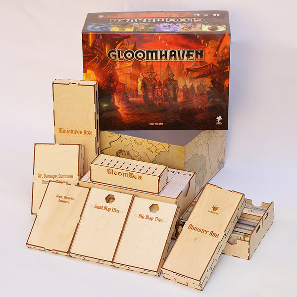Laserox - GloomBox (Compatible with Gloomhaven)