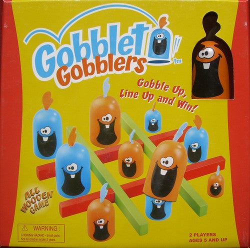 Gobblet Gobblers (Wooden Edition)
