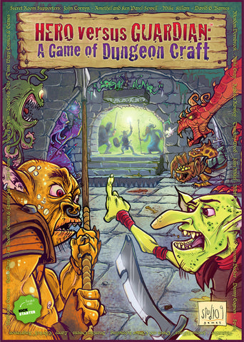 HERO versus GUARDIAN: A Game of Dungeon Craft