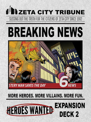Heroes Wanted: Breaking News