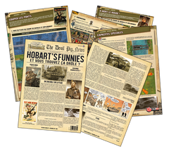 "Heroes of Normandie: Gazette #2 ""Hobart's Funnies"""