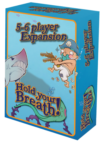 Hold Your Breath!: 5/6 Player Expansion