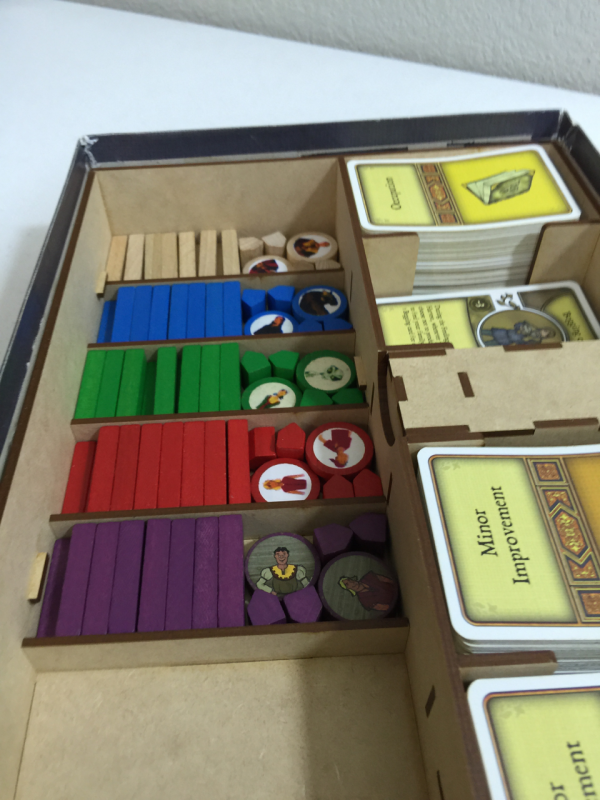 Buy go7 gaming agricola pre 2016 storage solution for Board game storage solutions