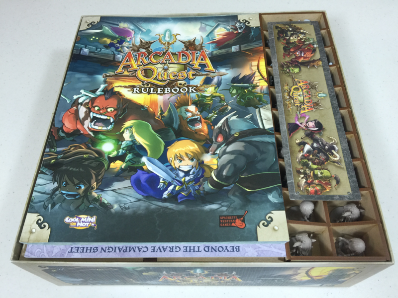 Go7 Gaming - AQBASE-001 Insert for Arcadia Quest