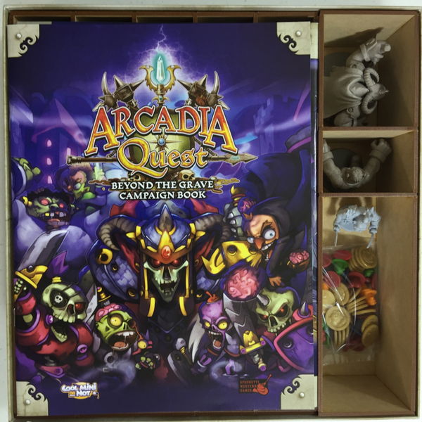 Go7 Gaming - AQBTG-001 Insert for Arcadia Quest Beyond the Grave