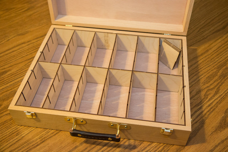 Broken Token - Custom Engraved Dominion Case and Organizer Set