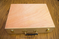 The Broken Token - Unfinished Wooden Artist Case and Organizer Set (WAC003)