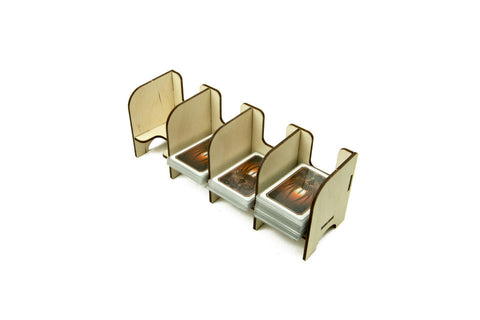 Broken Token - Tabletop Card Holder - 4 Tray Mini