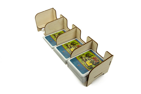 The Broken Token - Tabletop Card Holder - 4 Tray Standard