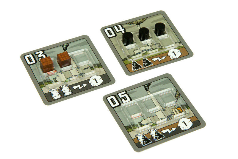 Broken Token - Power Grid Power Plant Trays (18)
