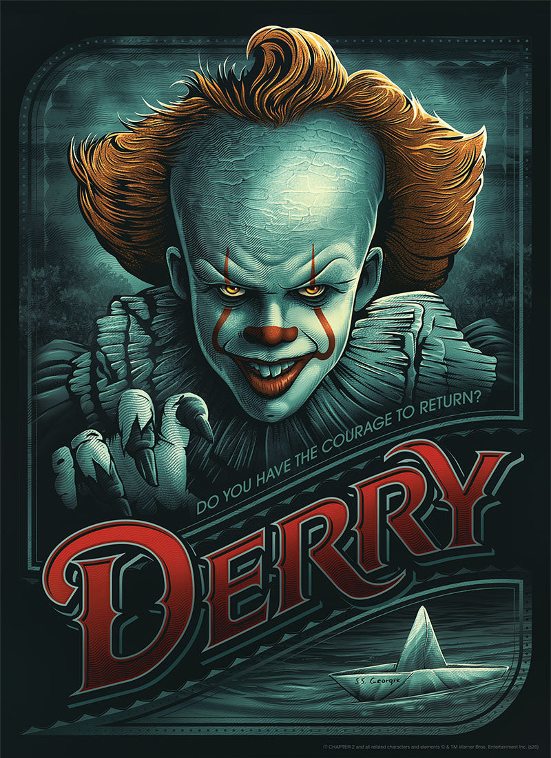 "Puzzle - USAopoly - IT Chapter Two ""Return to Derry"" (1000 Pieces)"