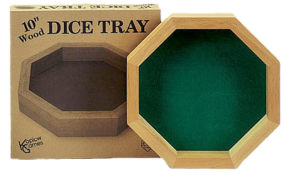 Koplow: Wooden Dice Tray