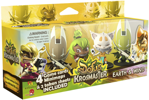 Krosmaster: Arena - Earth & Wind Expansion Pack #4