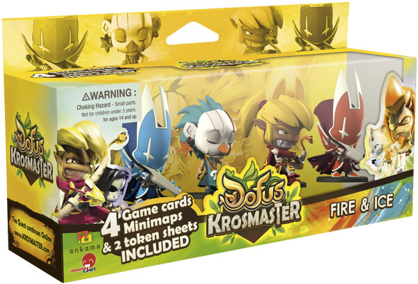 Krosmaster: Arena - Fire & Ice Expansion Pack #1
