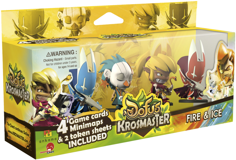 Krosmaster: Arena - Fire & Ice Expansion Pack