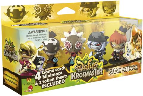 Krosmaster: Arena - Shak Attack Expansion Pack #8