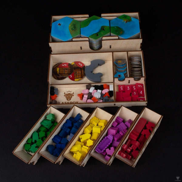 Laserox - Viking Explorer Organizer (Compatible with Explorers of the North Sea)