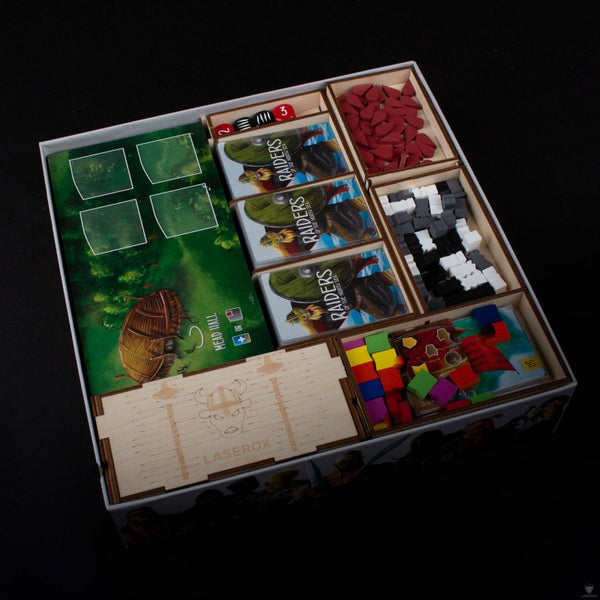 Laserox - Viking Raiders Organizer (Compatible with Raiders of the North Sea)