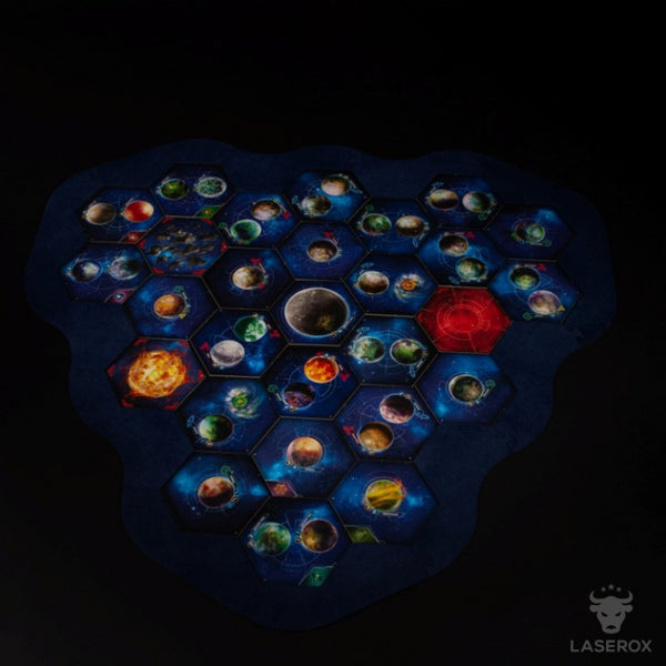 Laserox - Twilight Imperium Map Frame (3 Player Module)