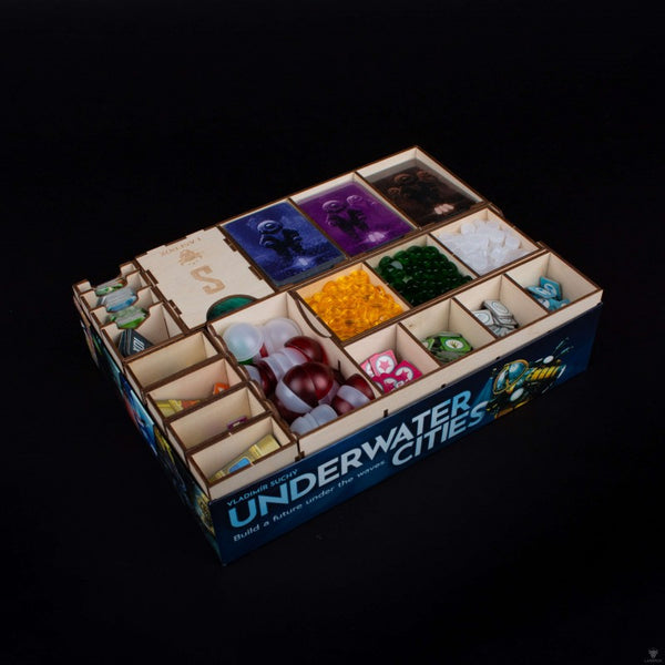 Laserox - Underwater Cities Organizer